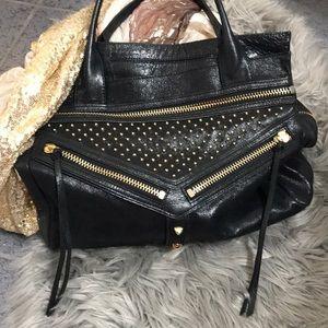 New Botkier Black studded hobo bag